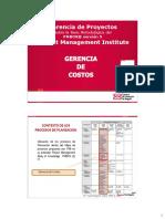 Gerencia de Costos- 2013 - V1