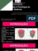 Anatomia e Fisiologia Do Abdome