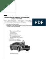 Ejemplo Del Calculo de La Adquisicion de Un Automovil