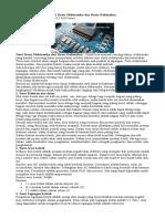 Teori Dasar Elektronika dan Dasar Kelistrikan.doc