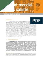 Rapport Mondial Sur Les Salaires (source BIT)