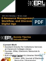 e Resourcesworkshop