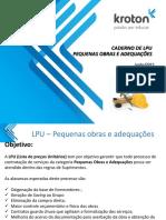 Catálogo de Obras - Suprimentos.pdf Kroton.pdf