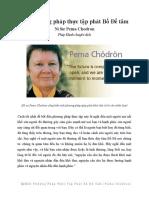 Một Phương Pháp Thực Tập Phát Bồ Đề Tâm_Pema Chodron_Phap Hanh