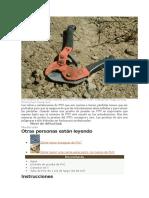 Los Cortadores de PVC Pued6454en Utilizarse Para Cortar Pérdidas en El Tubo