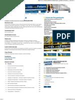 Pós Em Análise e Desenvolvimento de Sistemas Web