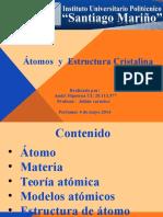 Atomo y Estructura Cristalina