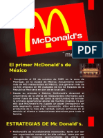 estrategias McDonalds