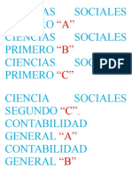 Ciencias Sociales Primero