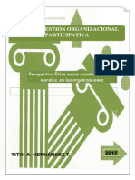 Etica y Gestion Organizacional Participativa
