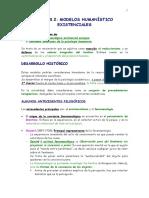 Tema 3.2. Modelos Humanísiticos Existenciales