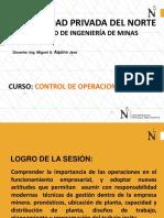 Caso Práctico - Control de Operaciones Mineras