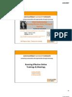 Web+Conferencing student+slides+handout