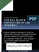 Medical Islamic Perspective of Law (Syariah)