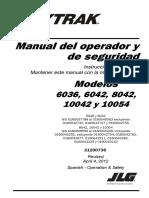 Skytrak - Manual Del Operador y Seguridad