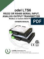 LTS Manual Serial In