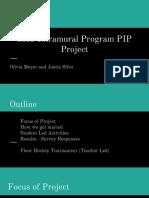 sms intramural program presentation