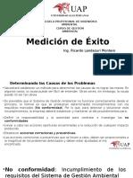 Medicion de Exito Ppt SGA R.landazuri