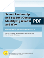 Robinson, Hohepa, Lloyd - 2007 - School Leadership and Student Outcomes Identifying What Works and Why
