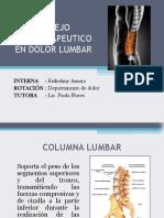 Manejo Fisioterapeutico en Dolor Lumbar