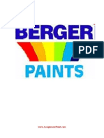 Financial Analysis of Berger Paints