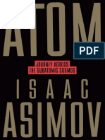 Isaac Asimov Atom Journey Across the Subatomic