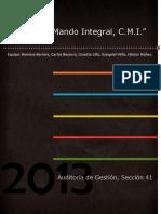 Cuadro de Mando Integral, C.M.I.