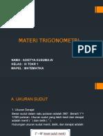 MATERI TRIGONOMETRI