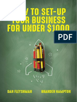 How to Set Up Your Business for Under $1000 | Swot Analysis