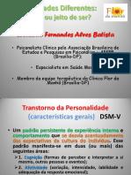 Apresentação Sobre Transtornos de Personalidade