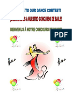 Ballroom Dance Contest