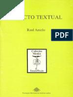ANTELO, Raul - Objecto Textual
