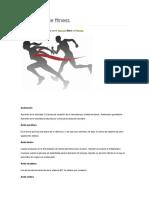 Diccionario de Fitness