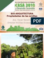 Propiedades de Las Arcillas - BIOCASA