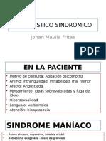 Síndromes HC Psiquiatría - Johan Mavila