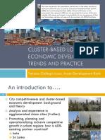Cluster-Based Local Economic Development