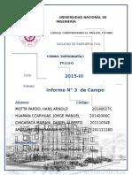 INFORME TOPOGRAFIA POLIGONAL CERRADA