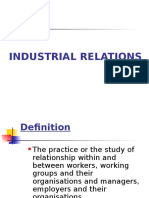 Industrial Relations. May- August 2016