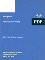 Applied protective relaying Westinghouse