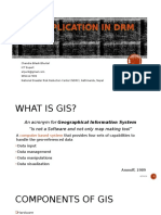 Gis Application in Drm