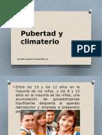 Pubertad y Climaterio