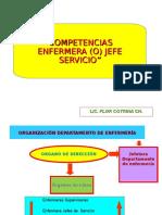 Competencias Del Enf. Jefe Servicio Flor Cotrina
