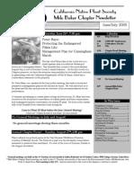 Milo Baker Chapter Newsletter, June 2005 ~ California Native Plant Society