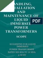 Module 5b Power Transformer Maintenance