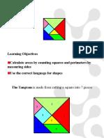 Tangrams Area and Perimeter