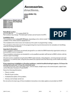 Bmw F01 Coding Sheet