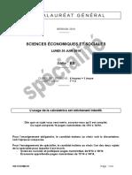 SES spéBac 2016: sujet Sciences Economiques et Sociales Bac ES «les difficultés des États membres de l'Union économique et monétaire pour coordonner leurs politiques conjoncturelles ?»