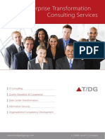Enterprise Transformation Consulting Services Brochure