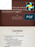 Industrial Technology and Development Institute (Pacifico)