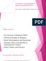 Chapter 10 | Business Ethics | Corporate Governance